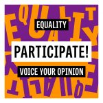 Participate in the public consultation of the Ministry of Equality!