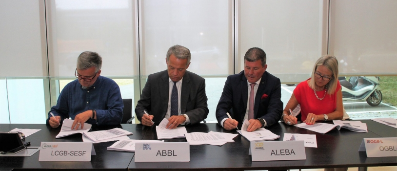 SIGNATURE OF THE NEW BANK CLA 2018-2020