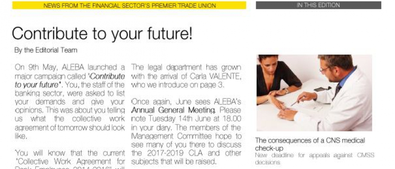ALEBA INFO #9 MAY-JUNE