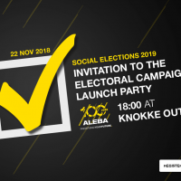 INVITATION TO THE ELECTORAL CAMPAIGN LAUNCH PARTY