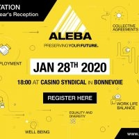 INVITATION TO THE NEW YEAR'S RECEPTION on 28th January 2020