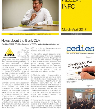 Aleba Info #13 March-April